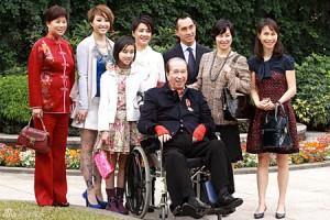 Stanley Ho e familia