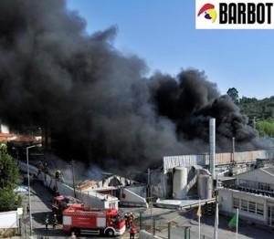 Tintas Barbot incendio