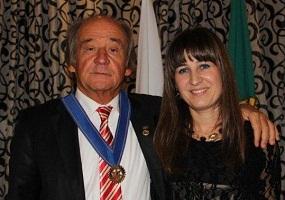 Ana Ambrosio e pai