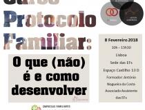 Curso Protocolo Familiar (Lisboa e Porto)