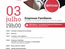 "Workshop ""Empresas Familiares: Enfrentar os Desafios, Assegurar a Continuidade"""