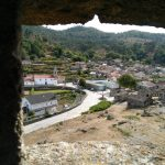 Espigueiros de Lindoso - Vista do Castelo