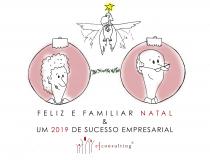 """""""O Natal é a Festa da Família"""". A Família é a Base da Empresa Familiar."""