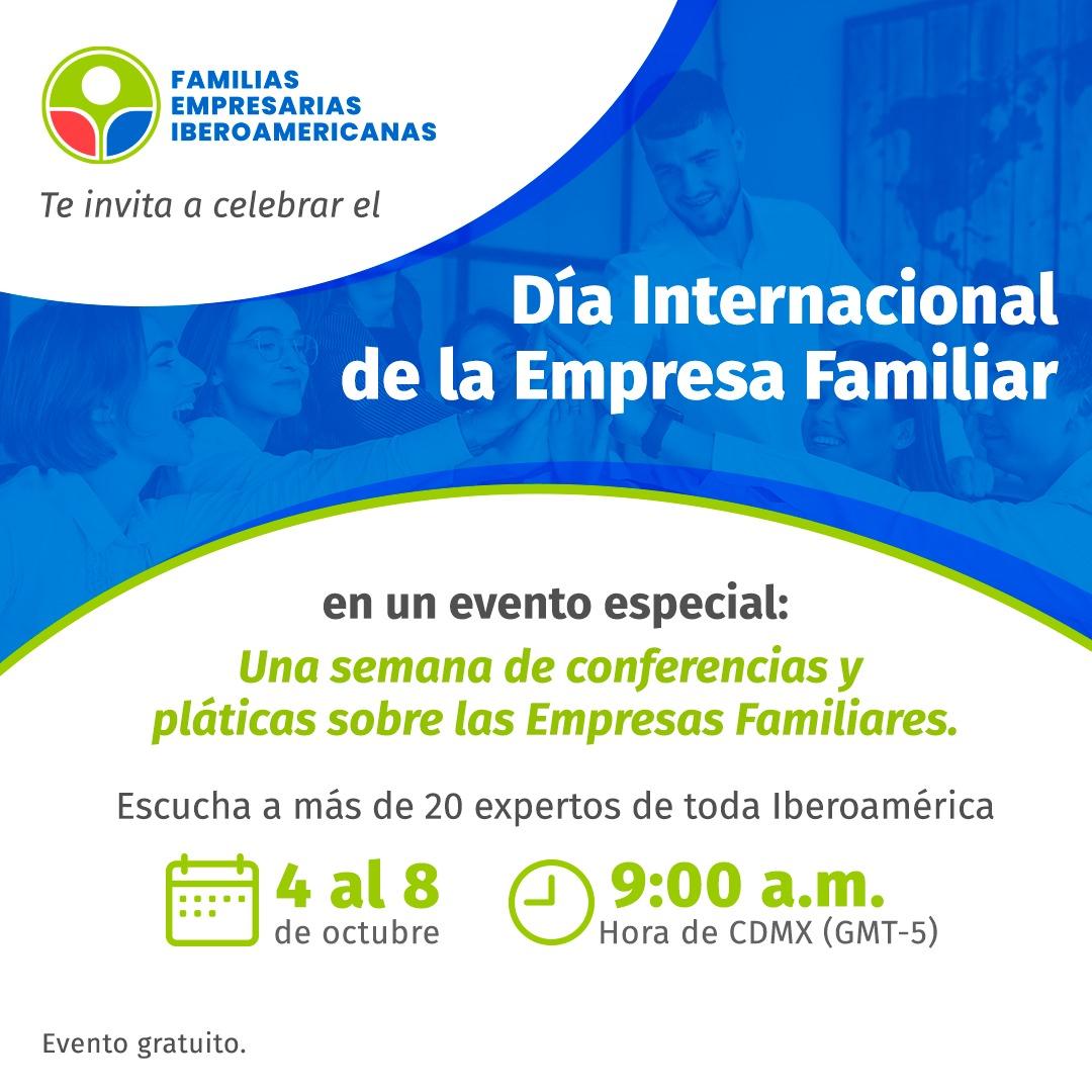 Dia internacional Empresa Familiar - 5 outubro