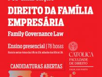 Pós-Graduação em Direito da Família Empresária – 3º Curso 2022
